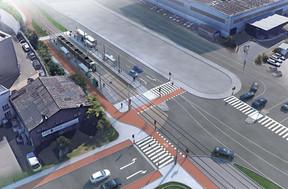 Comme au Kirchberg, une piste cyclable suivra le tracé du tram. ((Photo: Administration des ponts et chaussées))