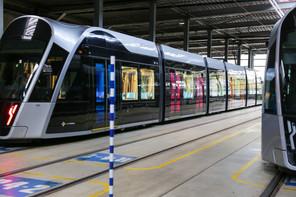Le tram devrait desservir 2 nouveaux arrêts d'ici à septembre 2022. (Photo: Romain Gamba / Maison Moderne)