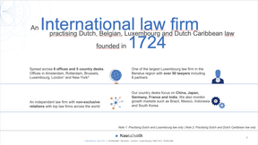 An International law firm founded in 1724 (NautaDutilh)
