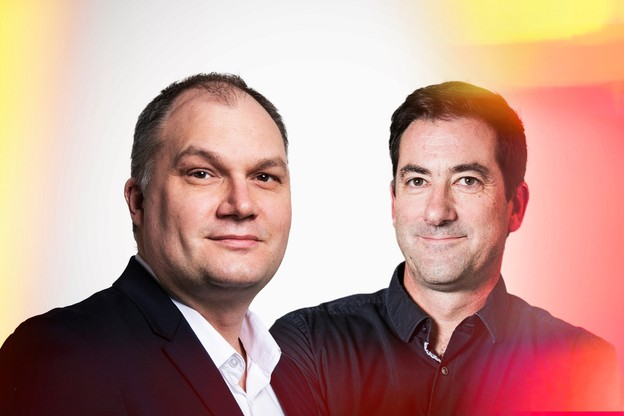 Gilles Haven – Sales Director & Jean-Luc Rousseau – Application & Information Solutions Manager Maison Moderne