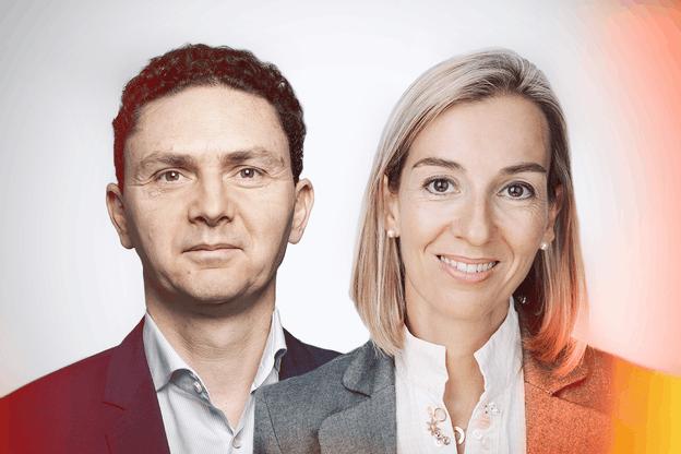 Sylvie Favaut, Directrice Sodexo BRS Luxembourg - Thomas Avella, Directeur Commercial Rydoo Crédit : Maison Moderne