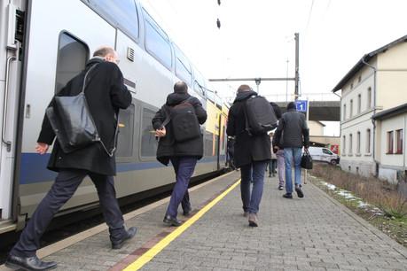 9% des trajets en Grande Région se font en transports en commun, selon une étude globale qui agrège des données de 2010 à 2019. (Photo: Frédéric Antzorn/Maison Moderne)