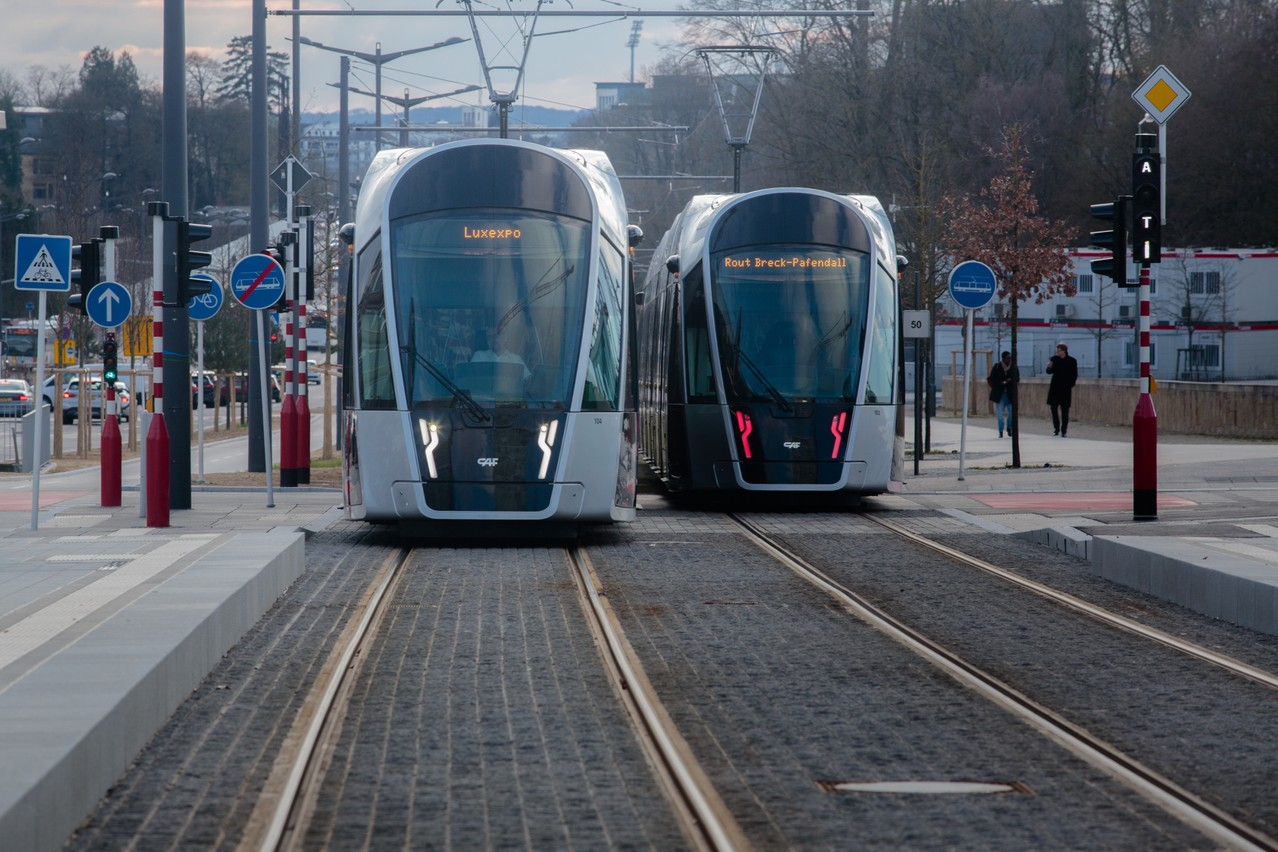 Train, tram et bus seront gratuits... dès samedi. (Photo: Matic Zorman/archives Paperjam)
