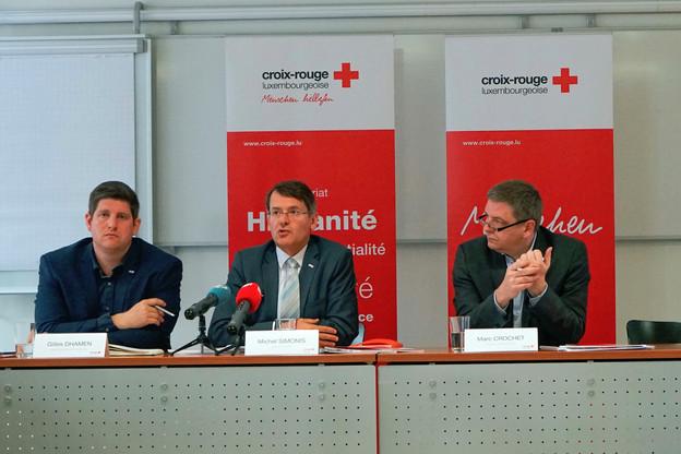 La direction de la Croix-Rouge luxembourgeoise a dressé son bilan et évoqué quelques perspectives pour 2019. (Photo: Croix-Rouge luxembourgeoise)