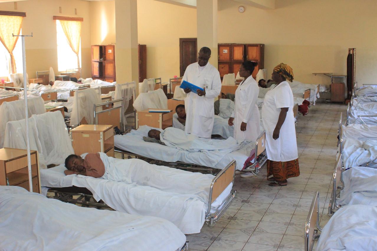 La Croix-Rouge luxembourgeoise veut contribuer à développer l'hôpital de Panzi où œuvre le docteur Mukwege. (Photo: Croix-Rouge)