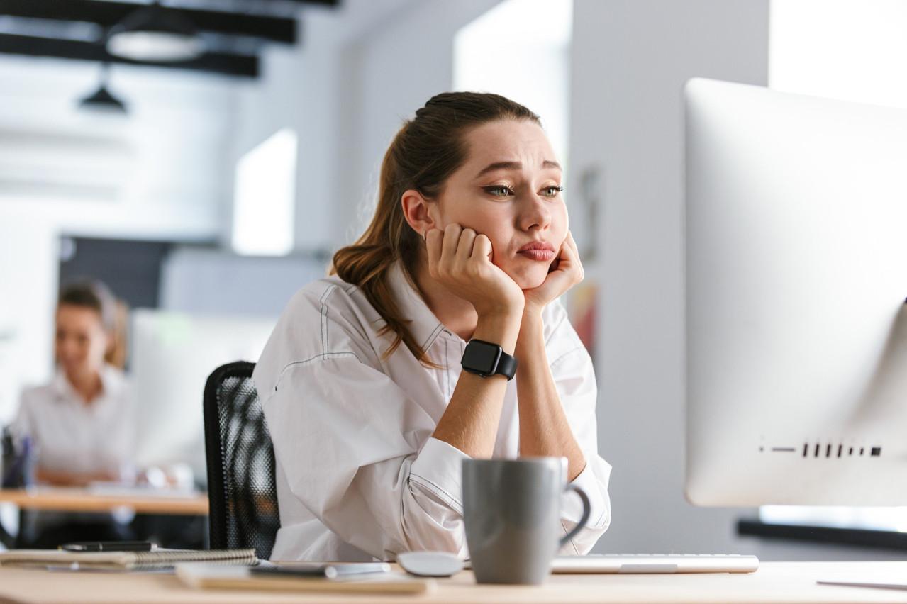 Avec la crise du Covid, les phénomènes d'épuisement liés au télétravail se sont accentués. (Illustration: Shutterstock)