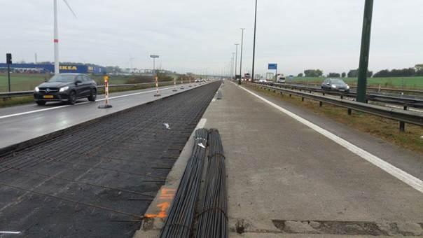 L'autoroute a été totalement rendue à la circulation le 30 avril dernier. (Photo: Sofico/Archive)
