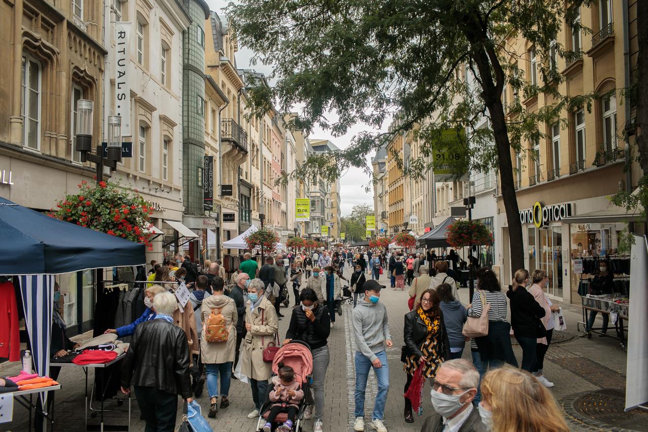 Août a été bénéfique au commerce de détail dans l'Union européenne par rapport à juillet, mais pas tellement au Grand-Duché. (Photo: Matic Zorman / Maison Moderne)
