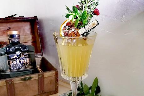 Du bon whisky et du caractère, le Trésor du Sud apporte une touche corsée à l'été! (Photo: Cathy Mutis)