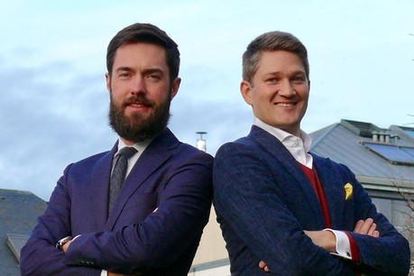 Co-founders, CTO Marcin Wolski and CEO Vojtech Seman. (Photo: rejustify)