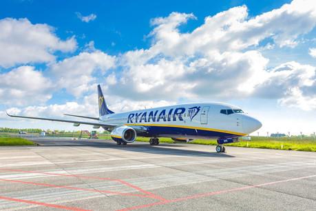 Ryanair se montre prudente dans ses prévisions pour le reste de son exercice décalé qui s'annonce périlleux. (Photo: Ryanair)