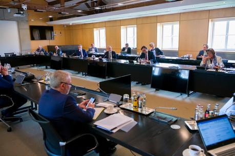 En mai dernier, le gouvernement avait procédé à des rencontres tripartites, ici avec le patronat. Les partenaires sociaux et l'exécutif se retrouvent en tripartite cette fois. (Photo: SIP/Emmanuel Claude/Archives)