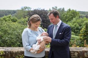 LL.AA.RR. la Grande-Duchesse héritière Stéphanie, le Grand-Duc héritier Guillaume et le Prince Charles ((Photo: Cour grand-ducale/Sophie Margue))