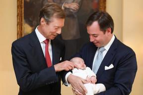 LL.AA.RR. le Grand-Duc Henri, le Grand-Duc héritier Guillaume et le Prince Charles ((Photo: Cour grand-ducale/Sophie Margue))