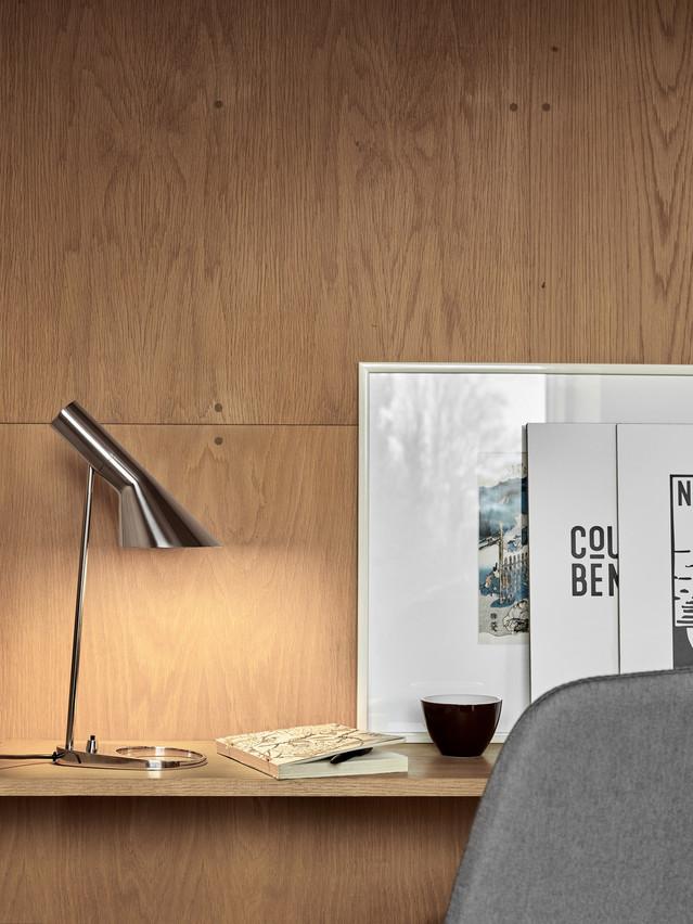 Lampe AJ d'Arne Jacobsen. (Photo: Louis Poulsen)