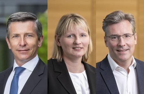 Benoit Wtterwulghe,Anke Schelling etRaphaël Eber comptent désormais parmi les associés de BDO Luxembourg. (Photo: BDO Luxembourg)