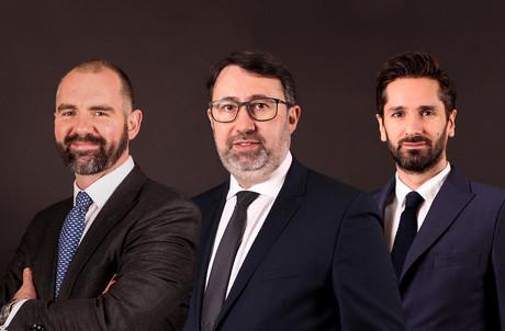 MarkShaw, EricPerru et YannPayen accèdent aux postes d'equity partners. (Photo: Wildgen)