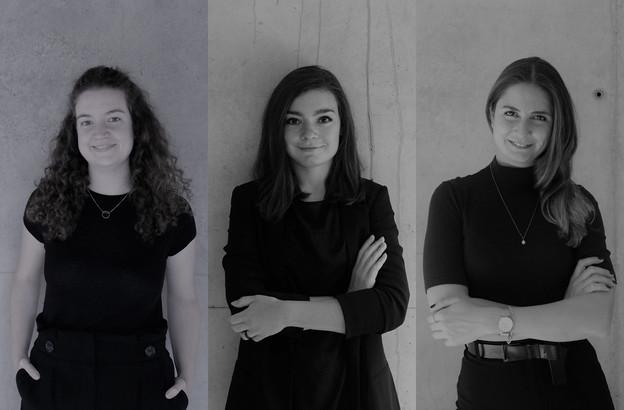 Esther Jiménez Ruiz, CélineStadler et Cana Somay Panayirci. (Photo: Dagli+)