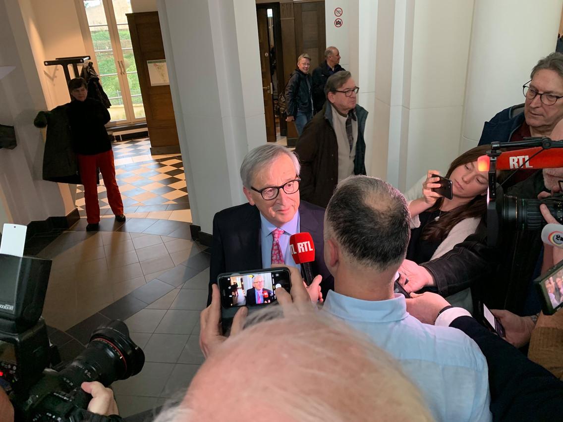 Jean-Claude Juncker avait livré un témoignage à trous lors du procès du Srel, en mars dernier. Mais les juges ont conclu qu'il avait bien autorisé l'écoute effectuée par  l e Srel . (Photo: Paperjam)