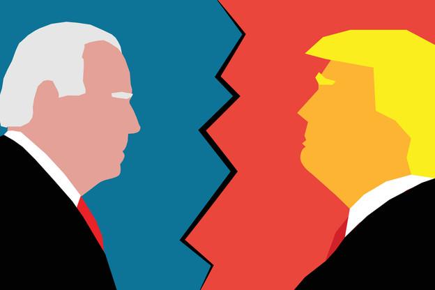 Le débat entre Donald Trump et Joe Biden, plus courtois que le premier, était axé sur le Covid-19. (Photo: Shutterstock)