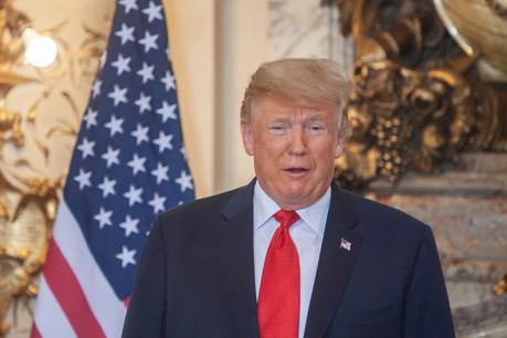 Donald Trump a une nouvelle fois surpris tout le monde avec deux messages rageurs publiés sur Twitter. (Photo: Shutterstock)