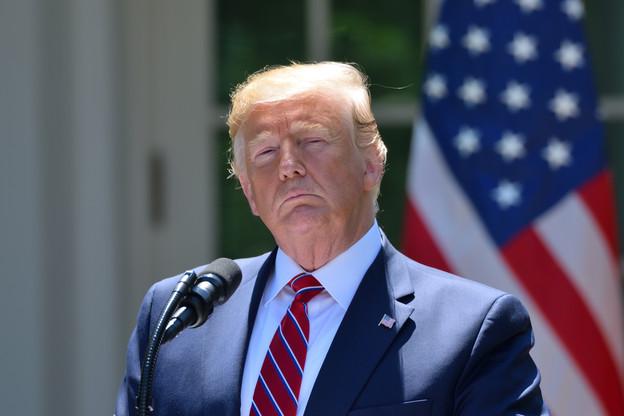 DonaldTrump avait annoncé, voici deux ans et demi déjà, sa volonté de renier l'accord signé. (Photo: Shutterstock)