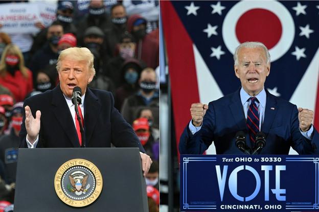 Les deux candidats portent des discours et des lectures différentes sur le décompte des votes, qui est d'ailleurs toujours en cours. (Photo: Shutterstock)