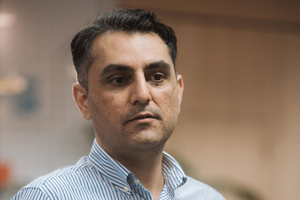 """Ahmad Gharanjik: """"If you have a startup idea and you believe it is great; don't hesitate to give it try."""" (Photo: DR)"""