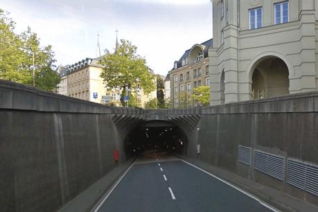 Une voie du tunnel du Saint-Esprit restera ouverte à la circulation, samedi et dimanche, entre 10h et 20h. (Photo: Capture d'écran / Google Maps)