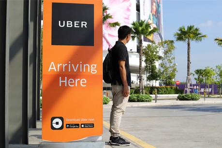 Uber a vu l'activité voiture chuter de 80% en avril. (Photo: Shutterstock)
