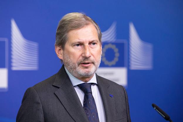 Le commissaire européen au budget, Johannes Hahn, n'attend plus que l'aval de l'ensemble des États pour engager l'Union européenne dans un plan d'endettement de 800 milliards d'euros. (Photo: Commission européenne)