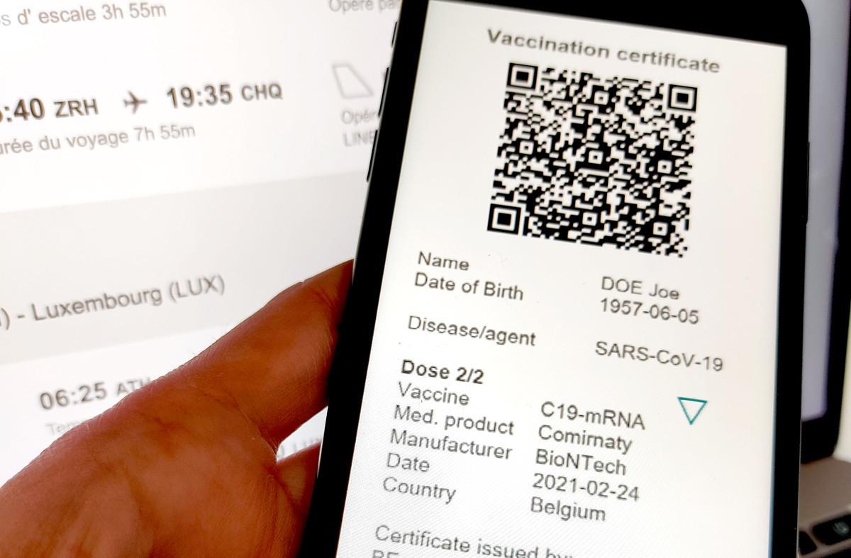Le certificat vert se déclinera en version digitale ou papier, mais sera, dans tous les cas, doté d'un QR code. (Photo: Paperjam)