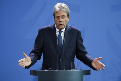 Le commissaire européen à l'Économie, Paolo Gentiloni, ne s'avance pas actuellement sur les conséquences du coronavirus. (Photo: Shutterstock)