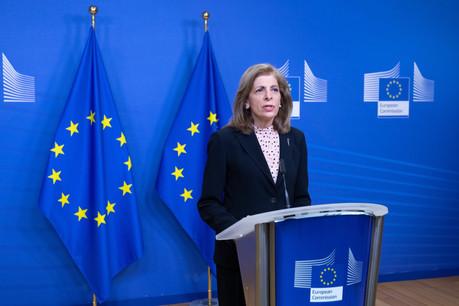 «L'Union européenne prendra toutes les mesures nécessaires pour protéger ses citoyens et ses droits», a prévenu, lundi, la commissaire à la Santé, Stella Kyriakides. (Photo: Commission européenne/Twitter)