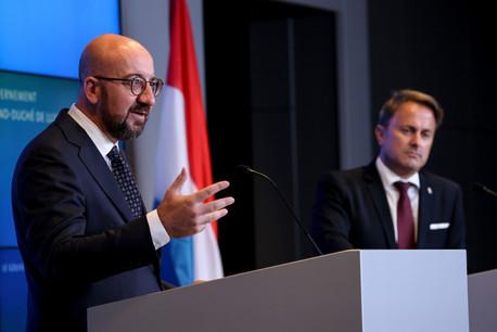 L'ancien Premier ministre belge était en visite de travail au Luxembourg jeudi 16 septembre. (Photo: UE)