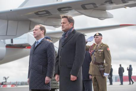 Le Premier ministre russe doit composer avec un programme très chargé au Luxembourg. (Photo: SIP / Charles Caratini)