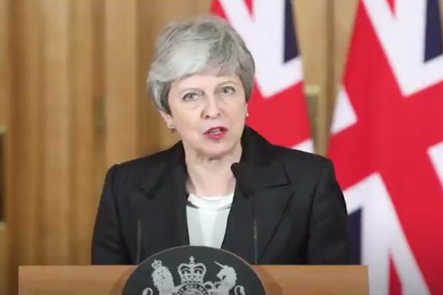 Theresa May espère encore convaincre Westminster de voter l'accord négocié avec les Européens. (Photo: Capture d'écran Twitter)