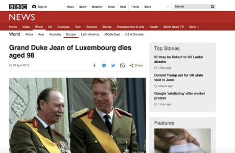 Plusieurs médias à l'international ont relayé la nouvelle mardi, dont la BBC. (Photo: capture d'écran/BBC)