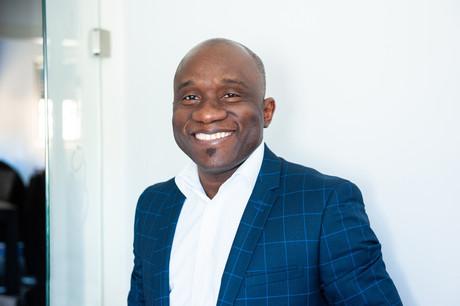 Thierry Amougou a lancé sa société de machines presse-agrumes en 2015. Il lui promet une seconde jeunesse cette année avec l'apparition de nouveaux produits. (Photo: Lala La Photo)