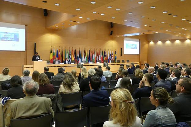 À l'initiative de l'Office de la propriété intellectuelle du ministère de l'Économie, l'Institut de la Propriété Intellectuelle Luxembourg (IPIL) organise, le jeudi 25 avril 2019, la 12 e  édition de la Journée luxembourgeoise de la propriété intellectuelle. (Photo: Luxinnovation)