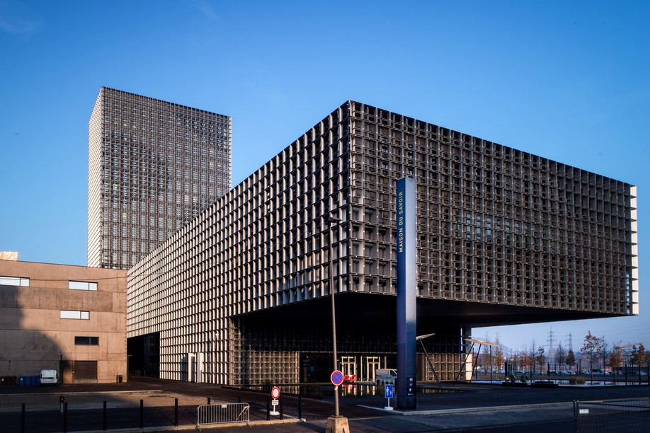 Archive photo shows the campus of the University of Luxembourg in Esch-Belval NADER GHAVAMI