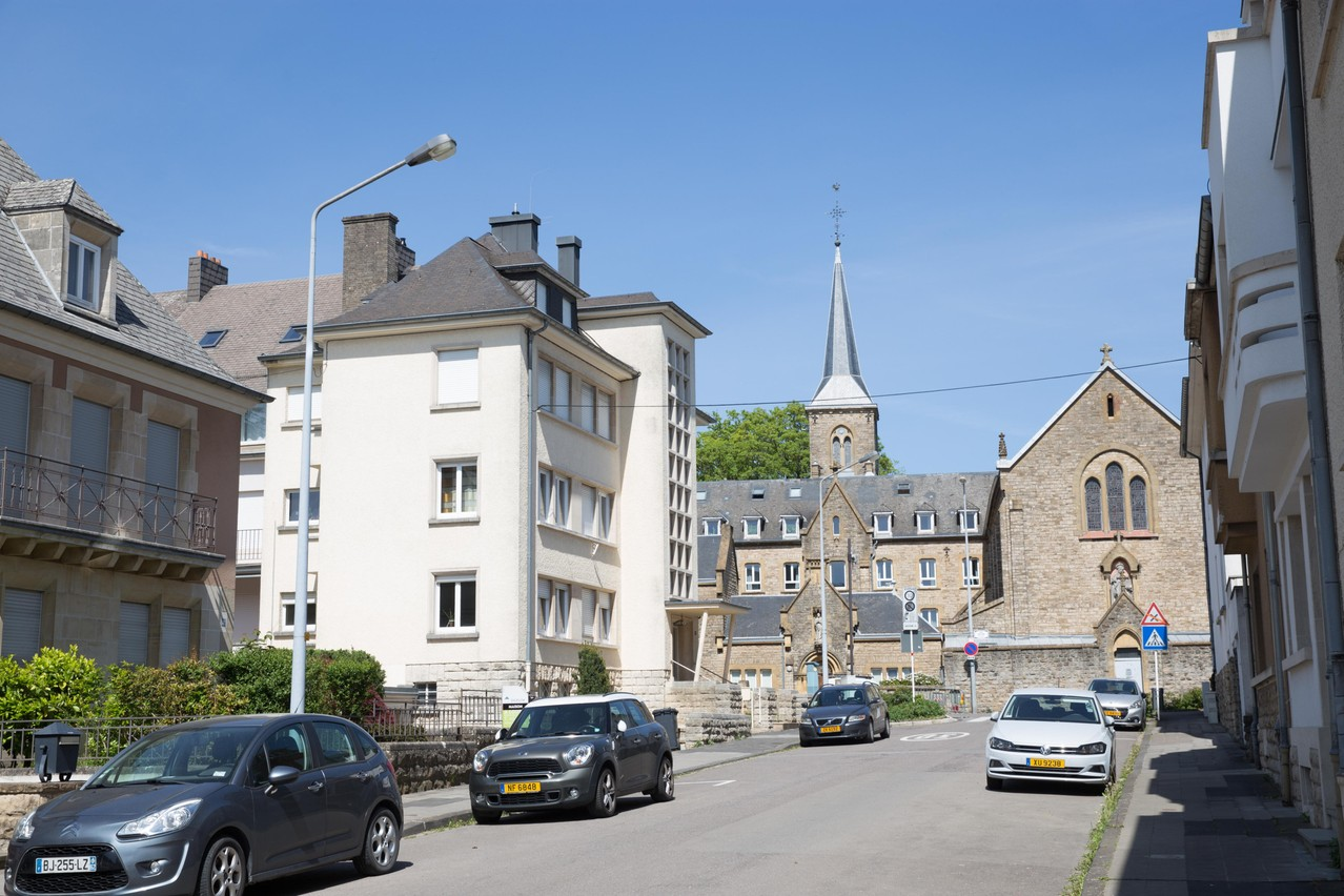 """Student halls of residence the """"Résidences Dominicaines"""" is pictured in Limpertsberg. Romain Gamba / Maison Moderne"""