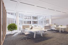 Les espaces de bureaux seront flexibles et adaptables aux souhaits des utilisateurs. ((Illustrations: IKO Real Estate-Thomas & Piron))