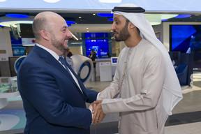 Étienne Schneider, Vice-Premier ministre, ministre de l'Économie, ministre de la Santé; Khalfan Belhoul, CEO de la Dubai Future Foundation ((Photo: © SIP / Jean-Christophe Verhaegen, tous droits réservés))