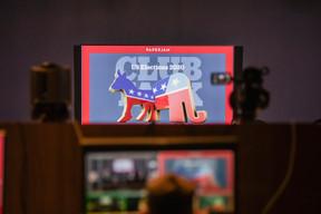 21.10.20 - US Elections Debate ((Photo: Jan Hanrion / Maison Moderne))