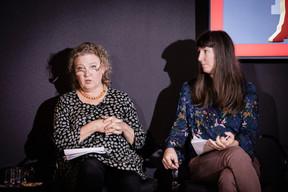 Amanda Surbey and Natalie Bachiri (Democrats) ((Photo: Jan Hanrion / Maison Moderne))