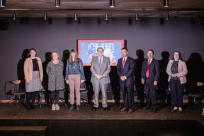 Amanda Surbey, Natalie Bachiri (Democrats), James O'Neal and William Abundes (Republicans), Natalie A. Gerhardstein (Delano),  Cordula Schnuer (Delano), Randy Evans ((Photo: Jan Hanrion / Maison Moderne))