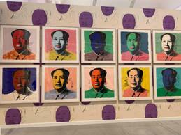 Cette série de portraits de Mao est peinte au moment où le président Nixon initie la détente dans les relations sino-américaines ((Photo: Maison Moderne))
