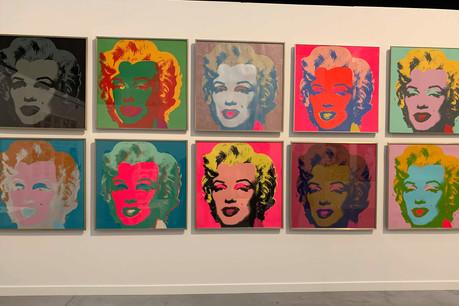 Emblème du rêve américain, Marilyn Monroe a inspiré une série d'œuvres de Warhol. (Photo: Maison Moderne)