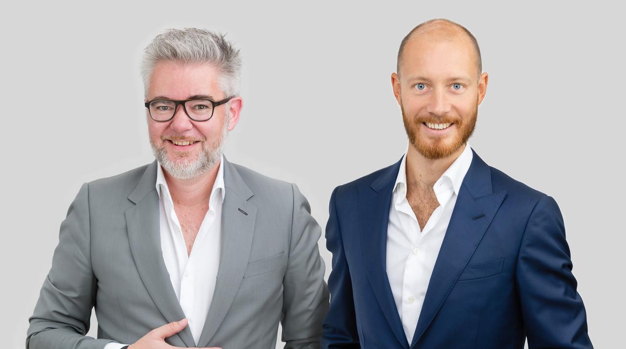 Raymond Faber et Antoine d'Huart, Avocats à la Cour – Etude /c law Crédit: /C Law